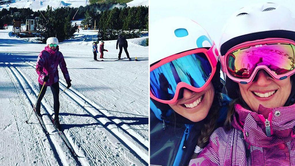 No todo va a ser piscina: a Mireia le encanta este deporte de invierno (sobre todo, esquí de fondo)