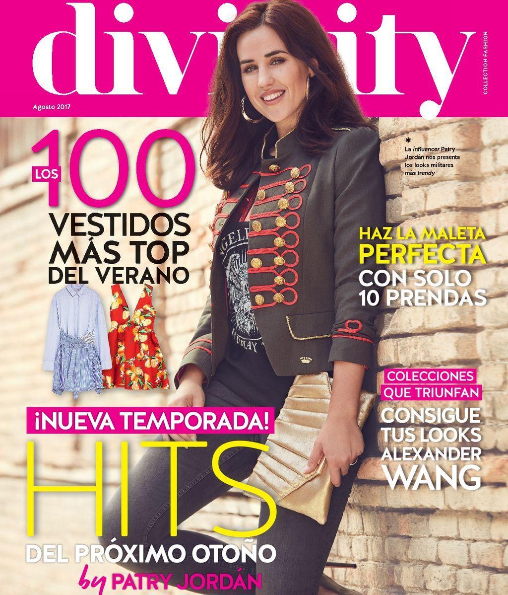 ¡Los vestidos  más top del verano!  Ya en tu quiosco el número de Agosto de la revista Divinity