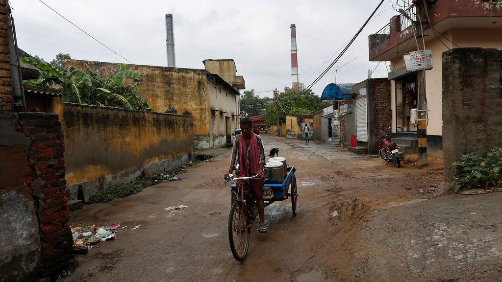 Central eléctrica en Nueva Delhi