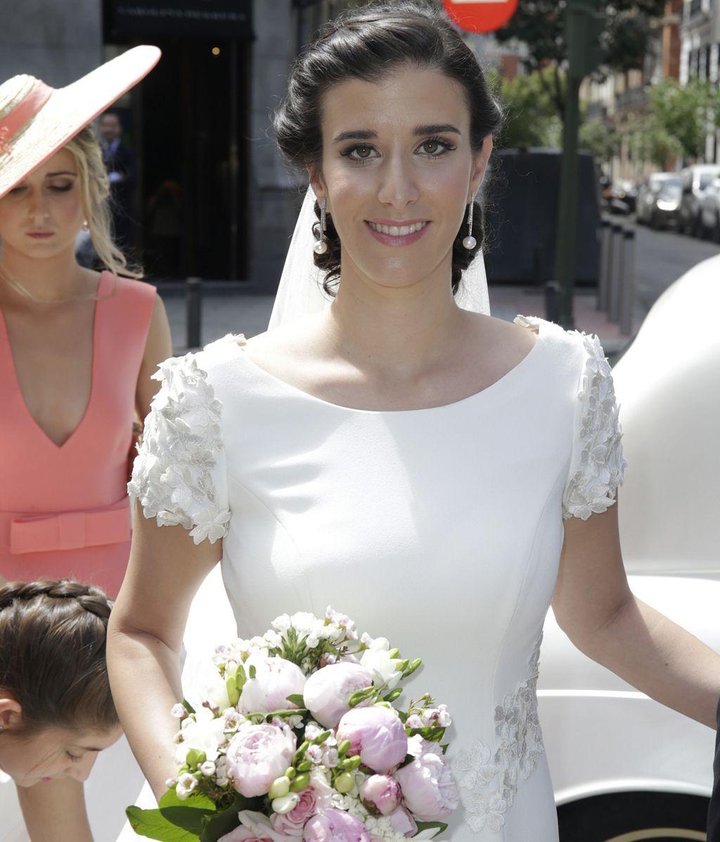 Blanca Moreno Herrero, hija de la periodista Nieves Herrero, se casa en Madrid