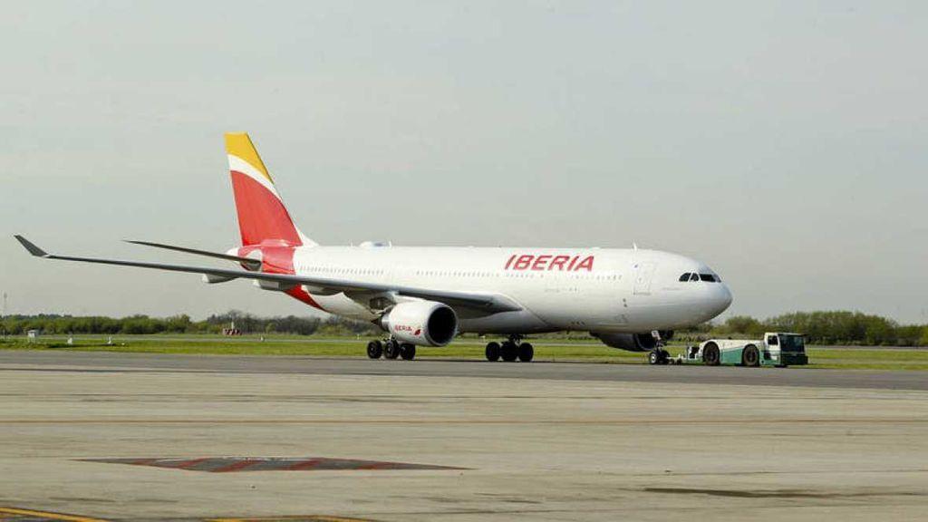Avión Iberia (Archivo)