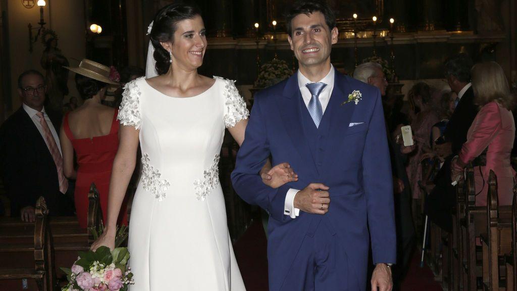 Blanca Moreno Herrero, la hija mayor de la periodista Nieves Herrero, se casa en Madrid