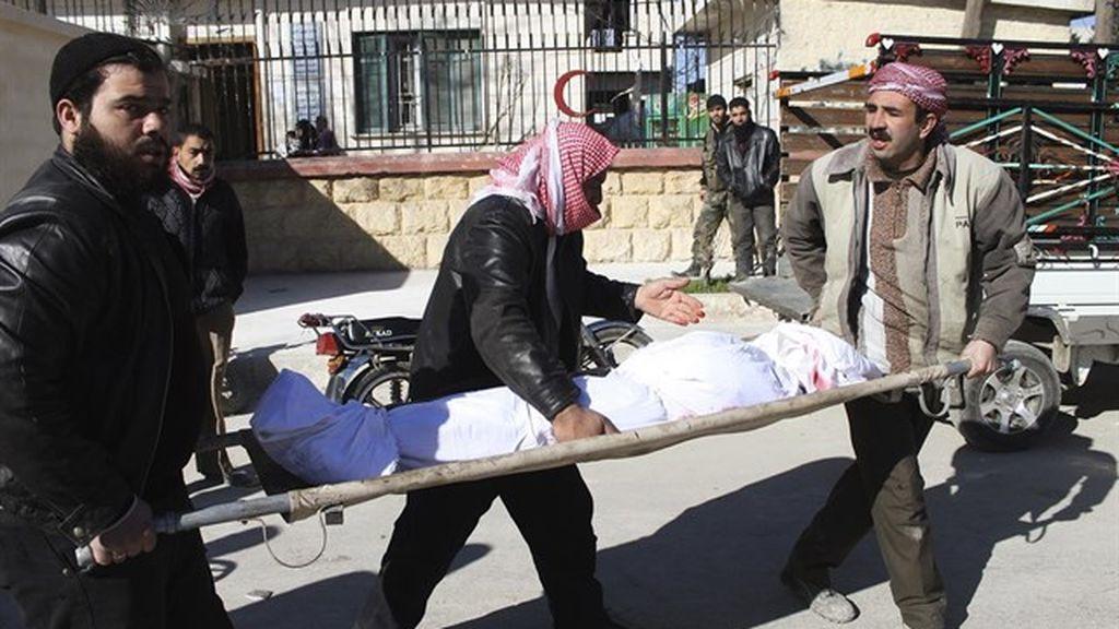 Mueren 6 civiles en un bombardeo de la coalición de EEUU sobre un hospital en Siria