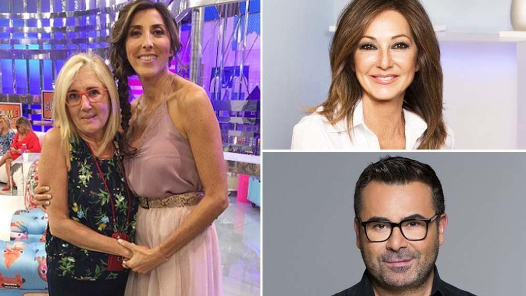 Jorge Javier Vázquez, Paz Padilla, Ana Rosa Quintana... ¡Los rostros de Telecinco presumen de 'hermano mayor' con orgullo!