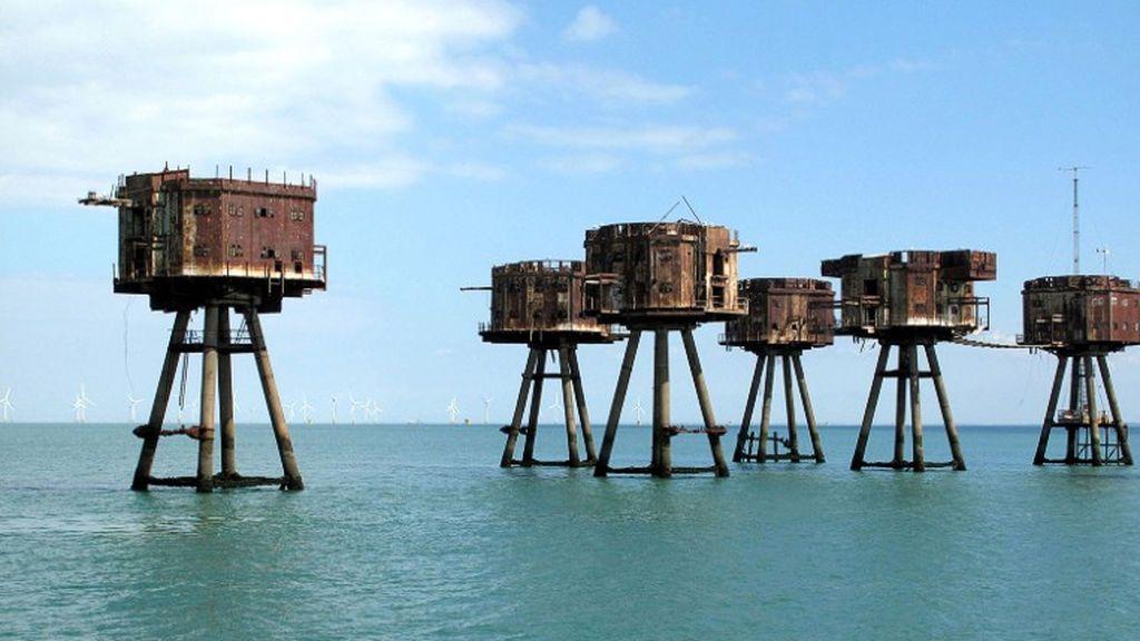 Fortalezas Marinas Maunsell, Inglaterra