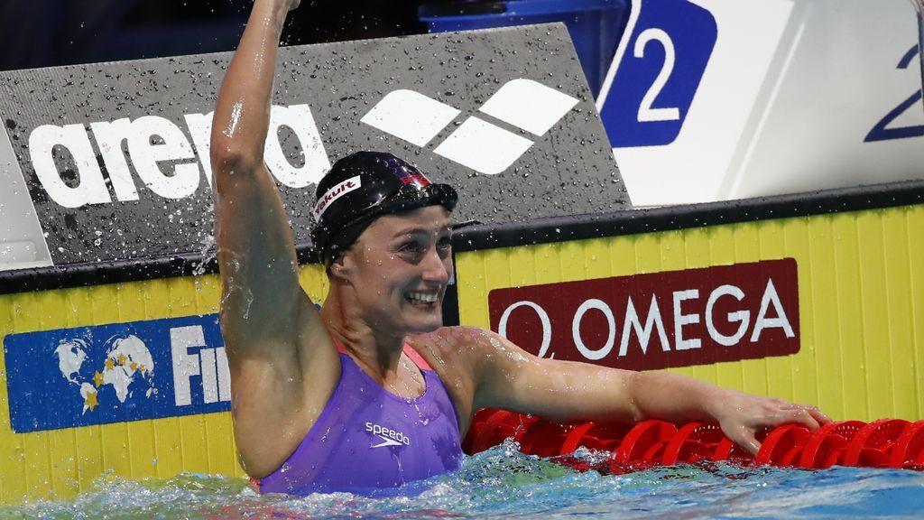 Mireia Belmonte gana la plata en 400 estilos en el Mundial de natación