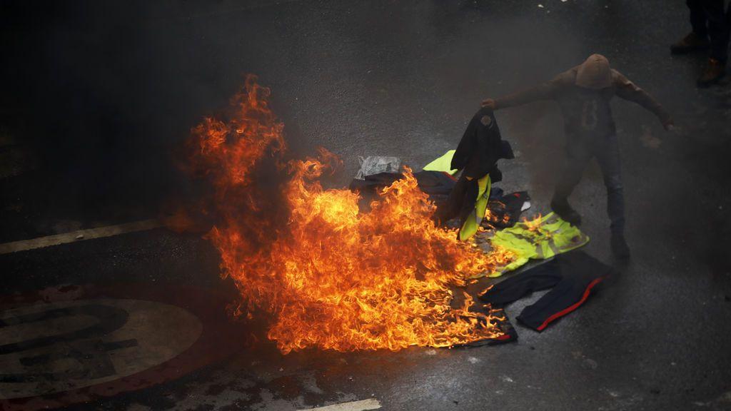 Graves disturbios en Caracas durante la jornada de votación de la Asamblea Nacional Constituyente