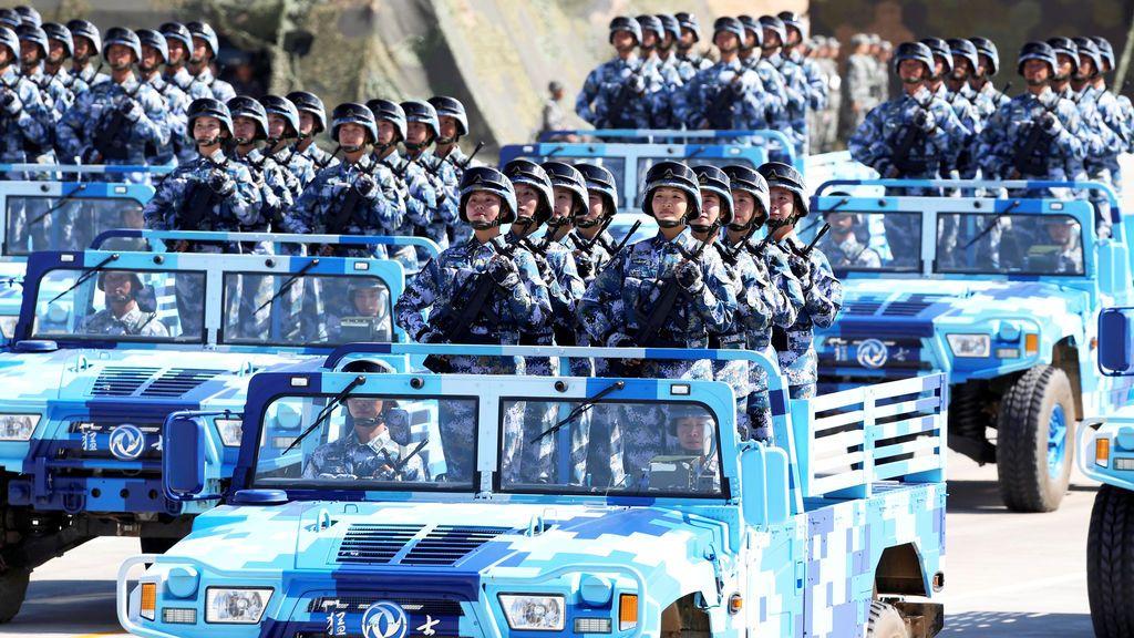 90º aniversario de la fundación del Ejército Popular de Liberación Chino