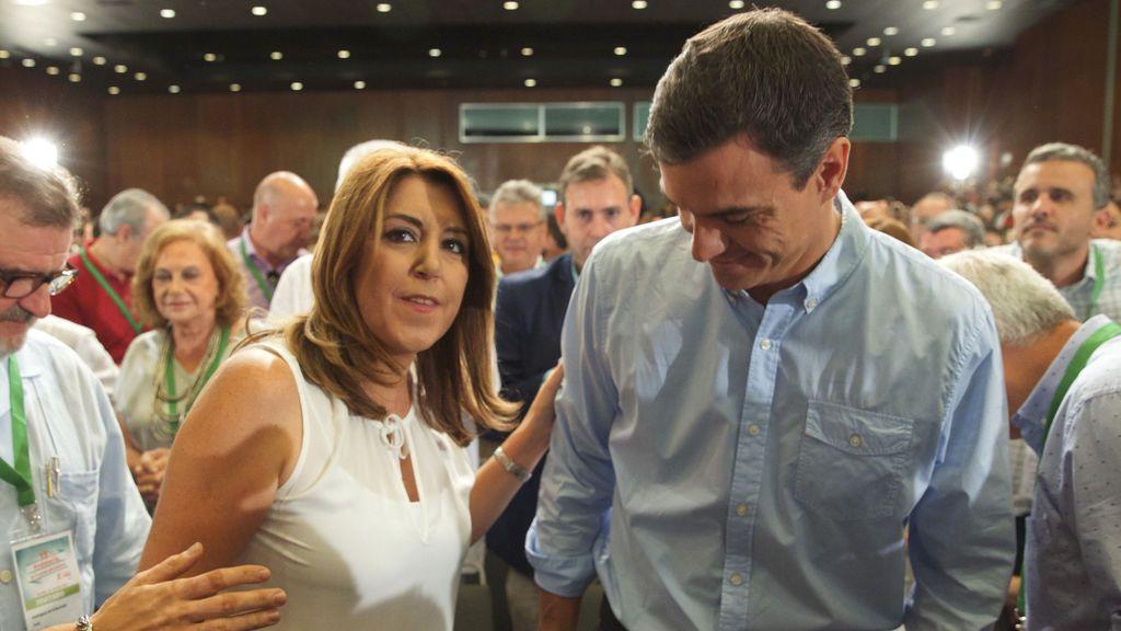Susana Díaz saca adelante su Ejecutiva con un 91 por ciento de apoyo