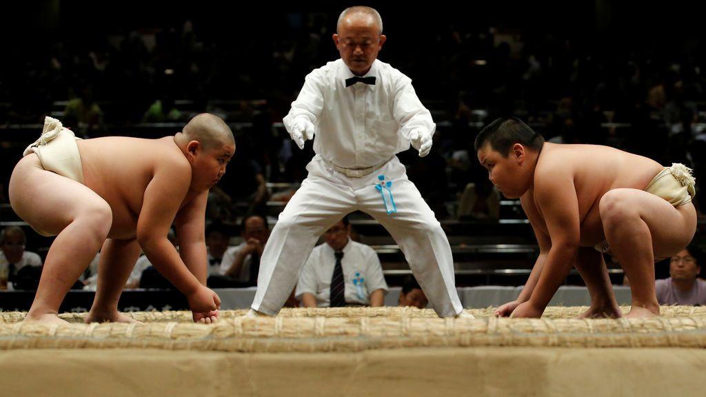 Torneo Wanpaku de summo en Tokyo