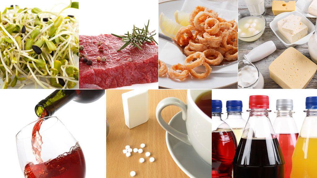Siete alimentos que disminuyen el deseo sexual