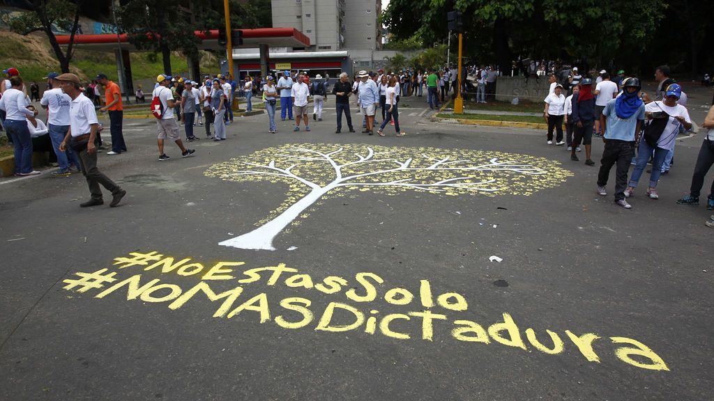 Protestas en las elecciones de la Asamblea Constituyente en Venezuela