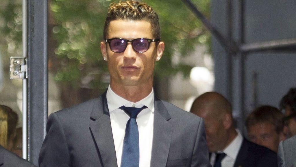 Cristiano Ronaldo llega a los juzgados por supuesto fraude a Hacienda