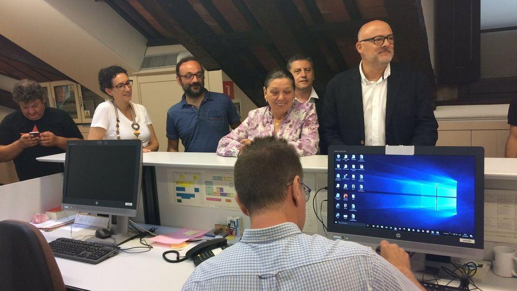 JxSí y la CUP registran en el Parlament la ley del referéndum del 1 de octubre