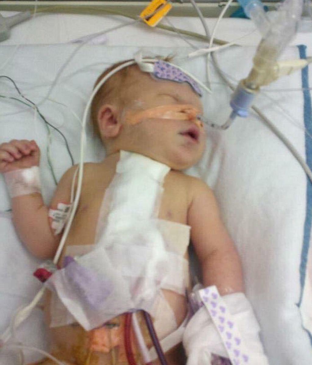 Jack medio corazón, recién nacido