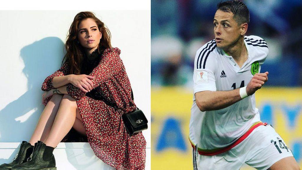 'Chicharito' y la actriz Andrea Duro no se esconden y muestran su amor en las redes sociales