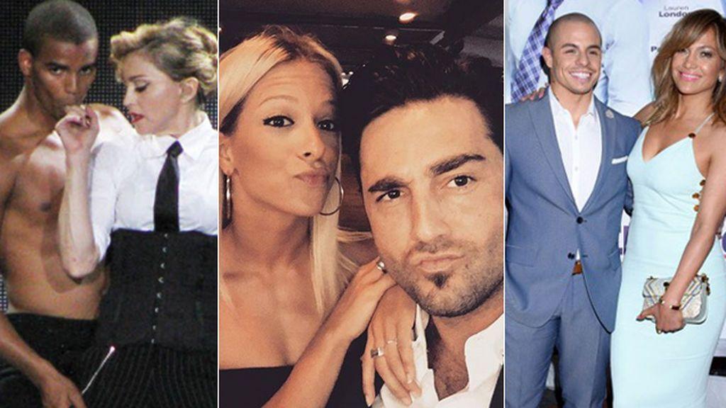 El #BustaSandra y otros 'romances' vip con una bailarina o un bailarín