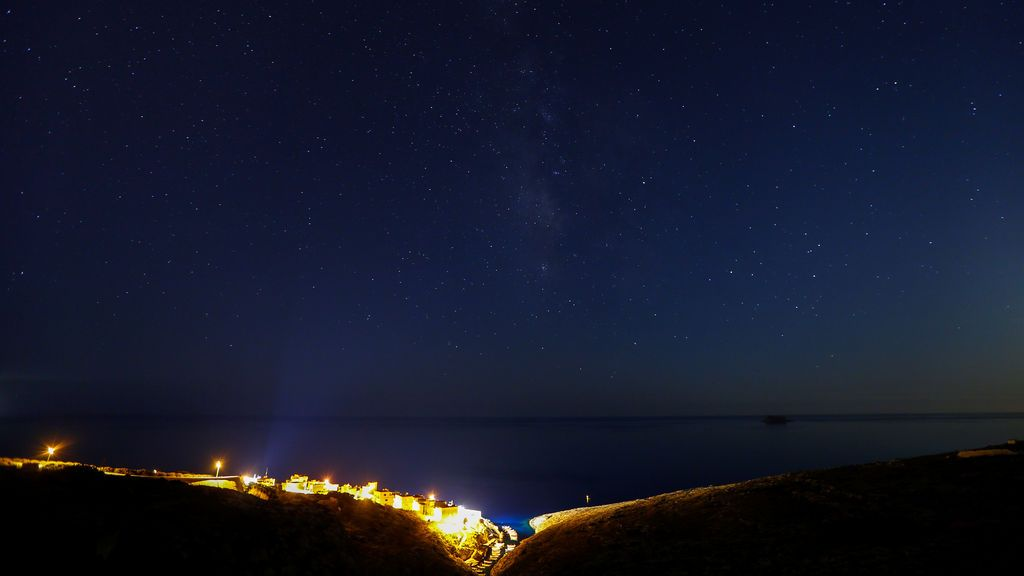 Vía Láctea en Malta