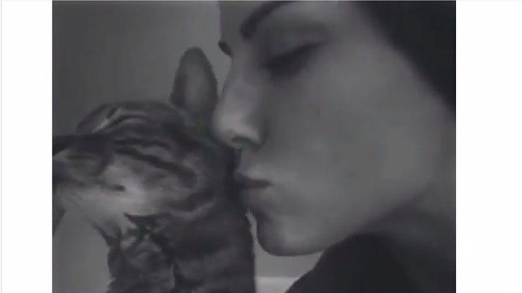 El momento más triste de Edurne al decir adiós a su gato