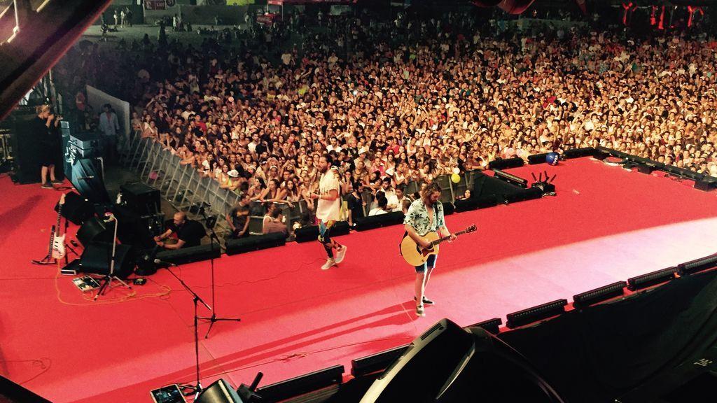 Coca-Cola Music Experience On The Beach atrae a 20.000 personas en Málaga