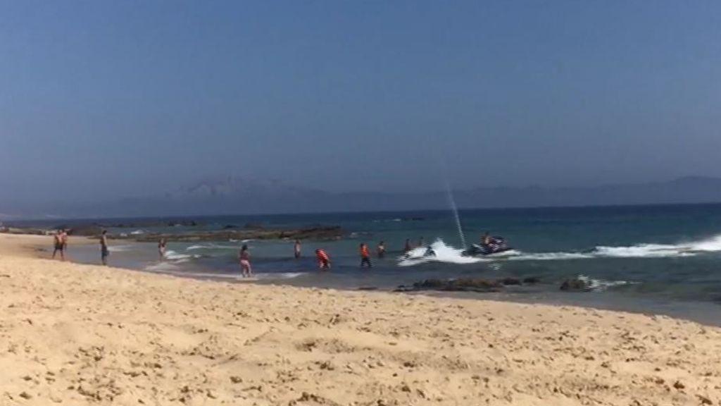 Los inmigrantes ahora llegan en motos acuáticas a las costas españolas