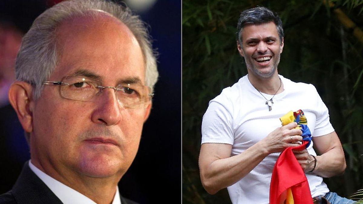 """La Justicia venezolana justifica el arresto de Leopoldo y Ledezma por """"riesgo de fuga"""""""
