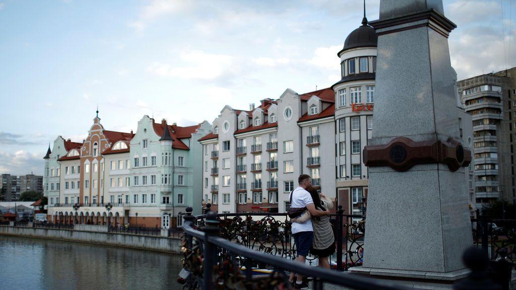 Vista de Kaliningrad en Rusia
