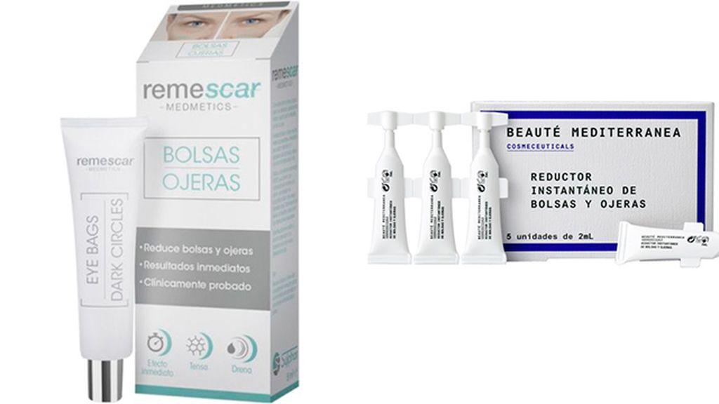 Remescar bolsas y ojeras (30 euros) y Beauté Mediterránea (5 euros)