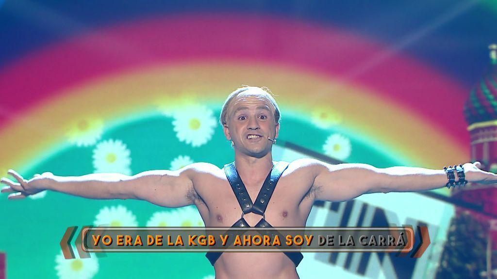 ¡Stop homofobia! Álex se transforma en Putin, que lo pasa pipa en el World Pride
