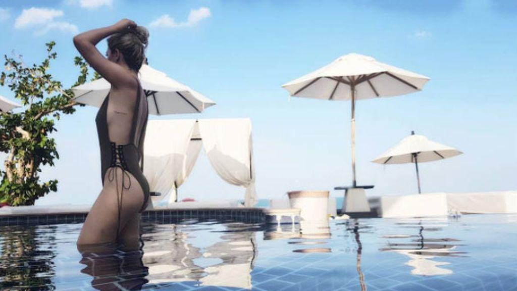 """Blanca Suárez termina su viaje por Tailandia con un """"anochecer perfecto"""""""
