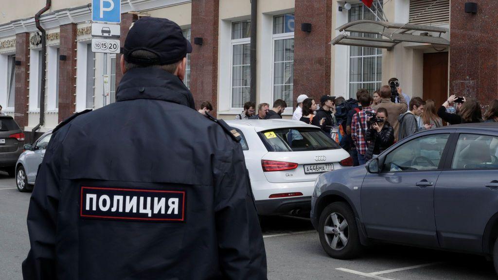Cuatro muertos por un tiroteo en un tribunal de Moscú