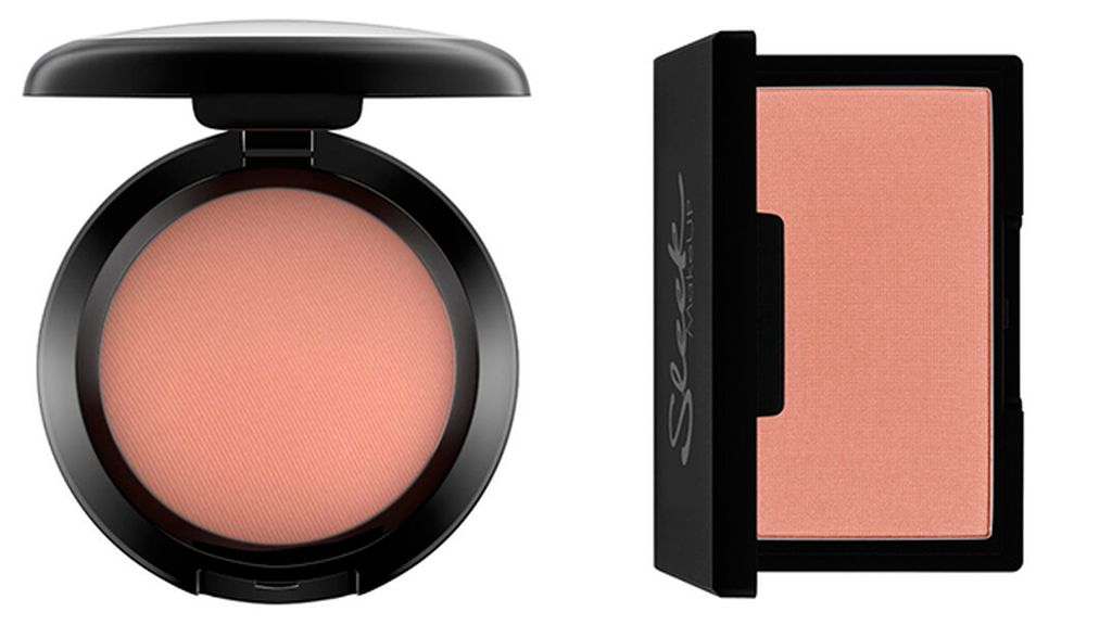 Colorete Gingerly de Mac (24,45 euros) y Blush in Suede de Sleek (5,99)
