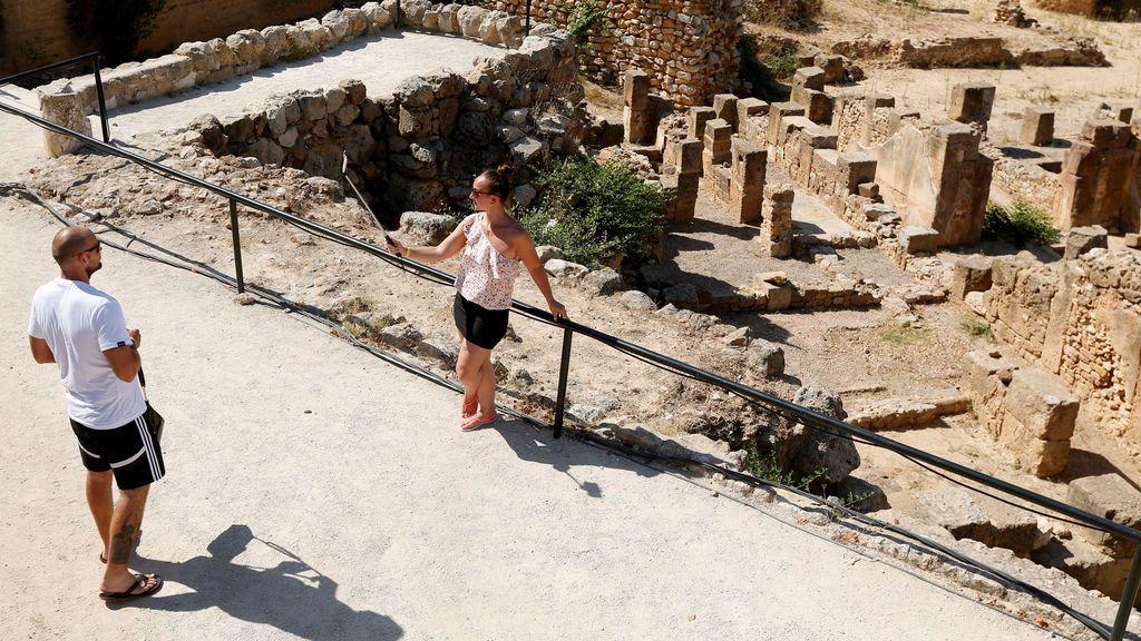 Zona arqueológica de Cartago en Túnez