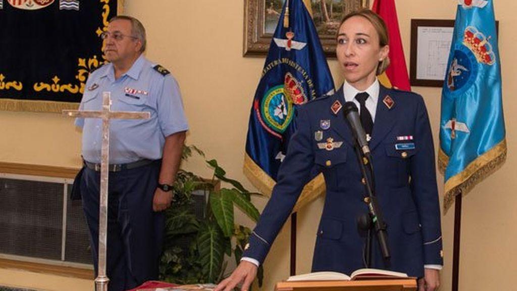 Toma posesión la primera mujer que asume el mando de una unidad en el Ejército del Aire
