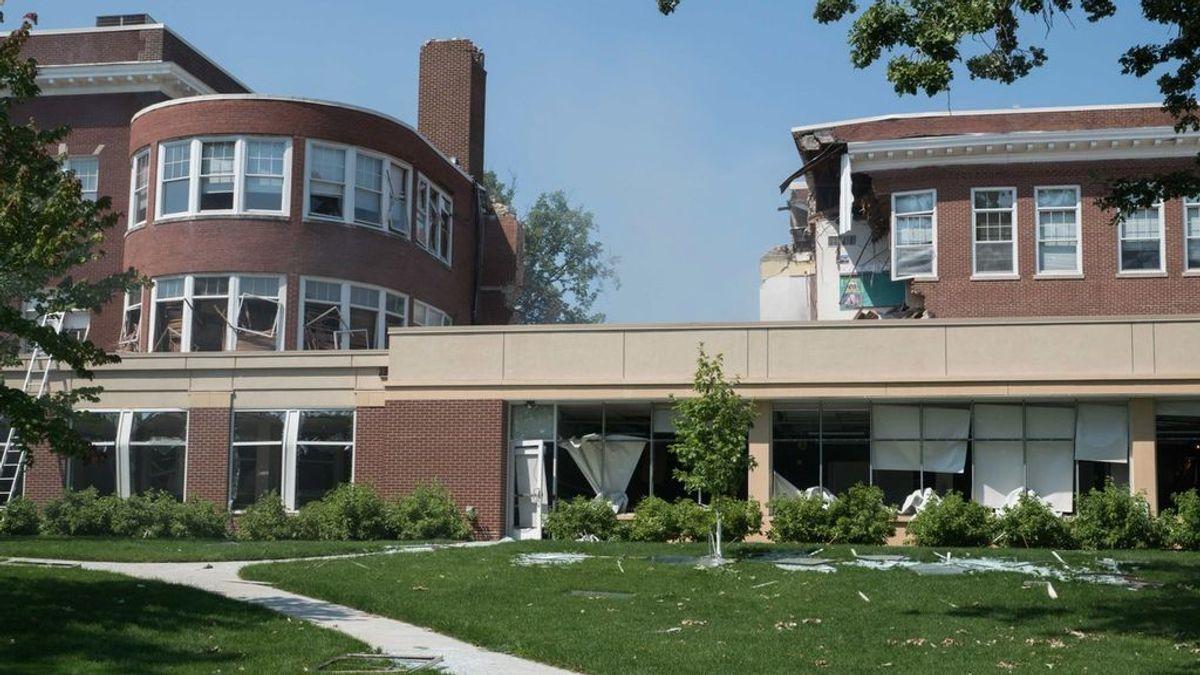 Una explosión de gas en un colegio de Estados Unidos deja varios desaparecidos