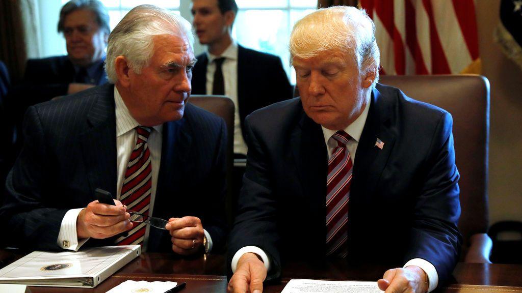 Trump también choca con su secretario de Estado por el acuerdo nuclear con Irán