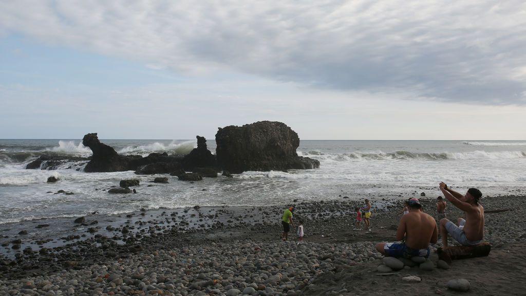 Playa El Tunco en El Slvador