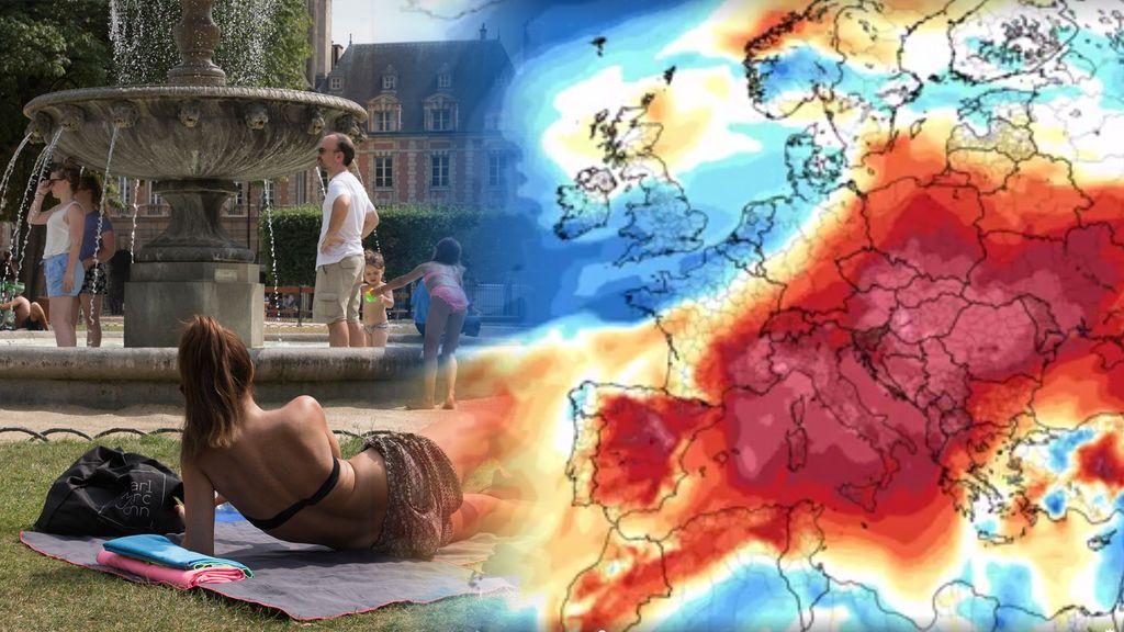 Resultado de imagen para ola de calor europa 2017