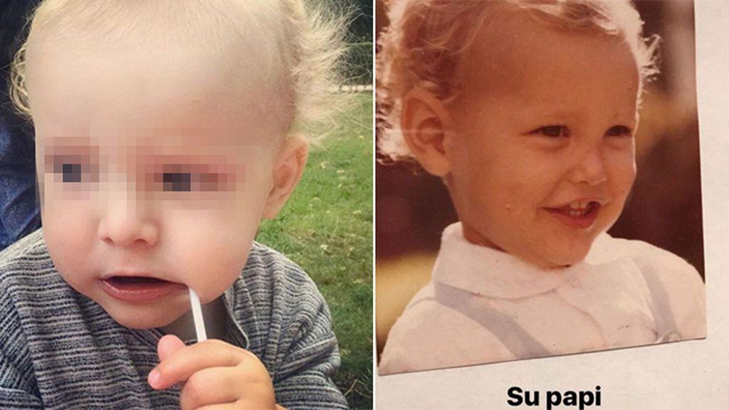 """Tania Llasera, sobre su hijo : """"Pensáis que se parece a mí, pero es un minicalco de su padre"""""""