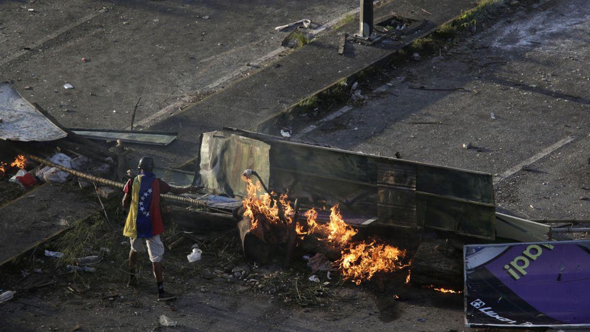 La Fiscalía venezolana investiga un ataque contra la Embajada de España en Caracas