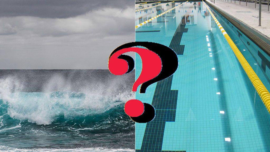 Nadar en mar o piscina: ¿qué pone más 'cachas'?