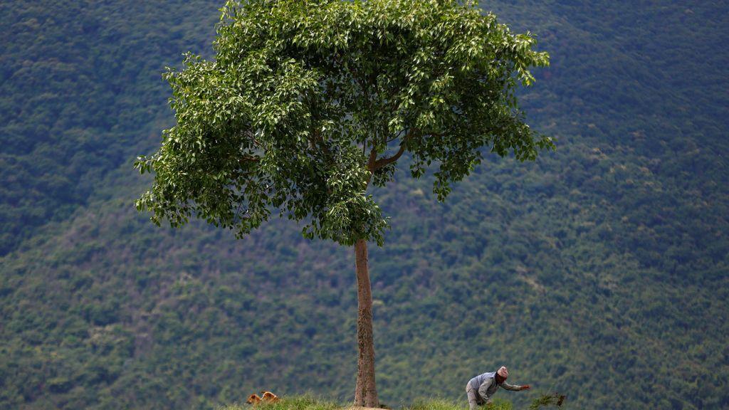 Trabajos de altura en Nepal