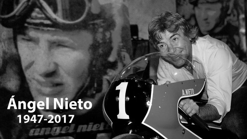 Fallece Ángel Nieto tras el accidente de tráfico que sufrió en Ibiza