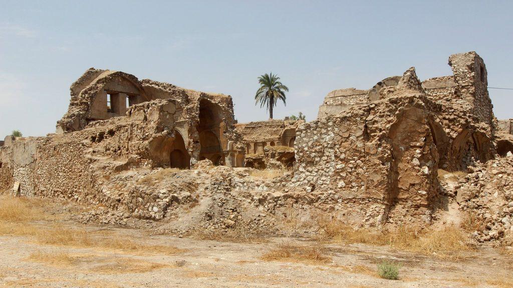 Castillo arqueológico en Kirkuk