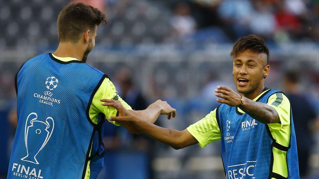 """Piqué despide a Neymar: """"Jugadores como tú hacen más grande el Barça"""""""