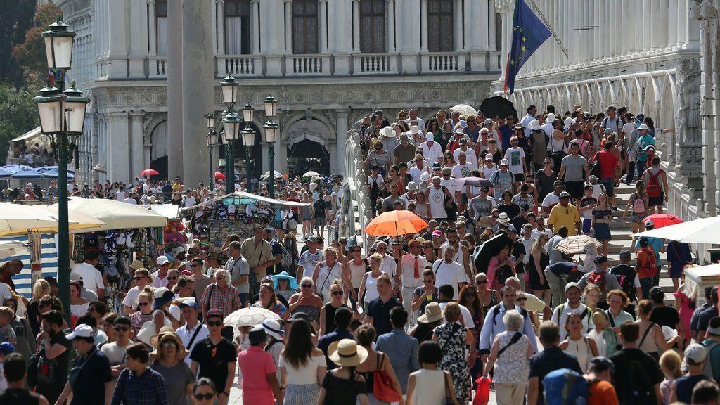 Venecia: lleno hasta la bandera
