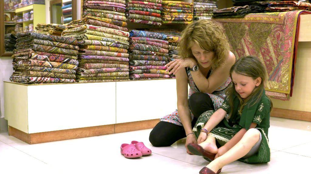 Amaia se porta muy bien y eso tiene su recompensa: se convierte en la princesa de India