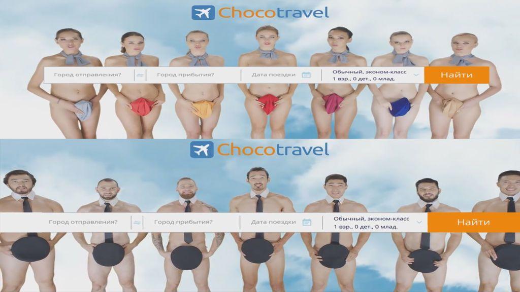 La tripulación de esta aerolínea kazaja invita a viajar de una manera muy sugerente