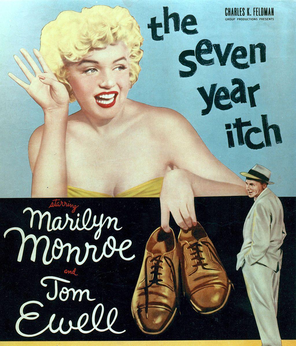 """Se consagró como actriz con la comedia """"The seven year itch,  convirtiéndose en un éxito"""