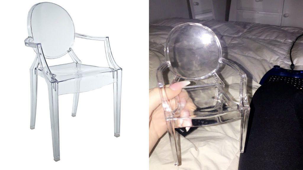 Compró esta silla por Internet y acabó recibiendo esto